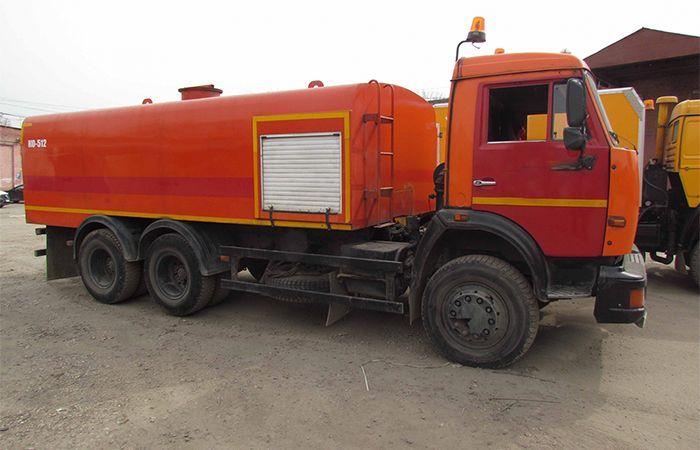 КАМАЗ 53215 КО 512 (промывка канализации)