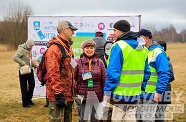 Как в Новополоцке прошли первые «Чистые игры» (+фоторепортаж)