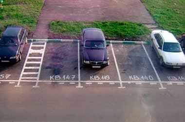 Можно ли вместо газона оборудовать парковочное место?