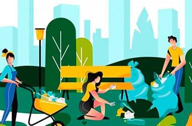 Чистый город: по инициативе новополочан состоится флешмоб по уборке зеленой зоны